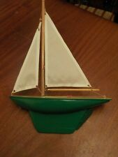 Vintage Model Pond Yacht Boat