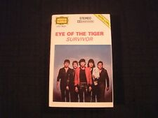 SURVIVOR - Eye of the Tiger - 1982 German Cassette / VG+/ Rocky /  Hard Rock AOR