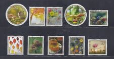 Japan 2018 Autumn Greetings Complete Used Set of 10 Sc# 4226 a-j 82Y