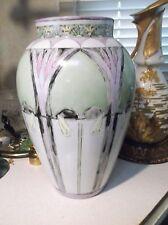 Limoges B&G France 11 3/4 inch Art Deco Nouveau vase