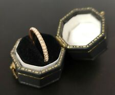 Victorian Pearl Eternity / Mourning Ring