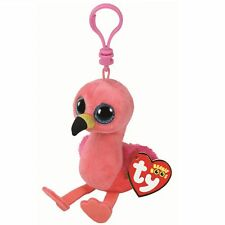 Ty Beanie Babies Boos 35210 Gilda the Flamingo Boo Key Clip