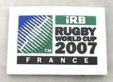 RUGBY WORLD CUP RWC 2007 FRANCE RUBBER 3D MAGNET RECTANGLE LANDSCAPE