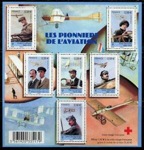 France: 2010 Pioneers of Aviation Souvenir Sheet (3901) MNH