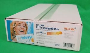 Refreshing cloth IN Box With Citrusduft Individually Packaged 400 Gastropack