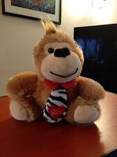 Card Factory Love & Cuddles Monkey Wearing Tie Soft Plush Toy