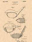 """1926 Golf Club by Cuthbert S Butchart Vintage U.S. Patent  8.5"""" x 11"""" Art Print"""