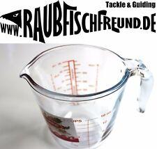 Messbecher 500 ML extra dickes Glas Gummifische gießen Labor für Ofen Mikro usw.