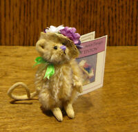 "DEB CANHAM Artist Designs LITTLE MISS PROPER, Hot Editions Coll. 2.5"" LE Mohair"