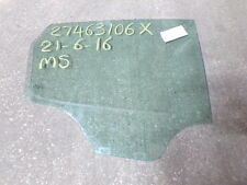13704 C8 12-16 MK5 6J SEAT IBIZA 5DR HATCHBACK OS DRIVERS REAR DOOR WINDOW GLASS