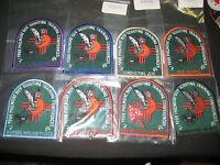 Philmont Training Center 1998 Conferences Pocket Patches, lot of 12          j15