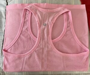 Lululemon Swiftly Tech Racerback Tank Top Women's Size 6 Light Pink