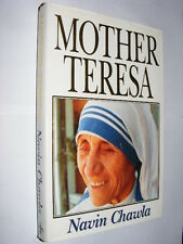 Mother Teresa by Navin Chawla HB book biography Calcutta Catholic Saint       AH