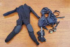 Hot Toys Toy City BBI 1/6 Diving equipment set Navy SEAL wetsuit dive knife