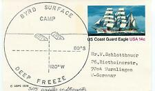 1978 Byrd Surface Camp Deep Freeze Polar Antarctic Cover SIGNED?