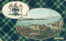 Oban crest & sound of mull from east campbell clan colours tartan B & R camera