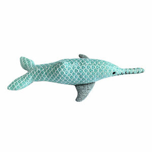Resploot Ganges Dolphin dog toy 29 x 13cm 100% Recycled