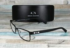 ARMANI EXCHANGE AX1003 6014 Satin Black Demo Lens 52 mm Men's Eyeglasses