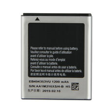 Replacement Battery For SAMSUNG S5330 S5232 s5750 GT-S5570 EB494353VU 1200mAh