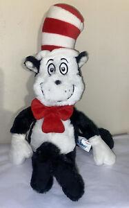 Plush Dr Seuss Cat In The Hat Stuffed Animal Soft