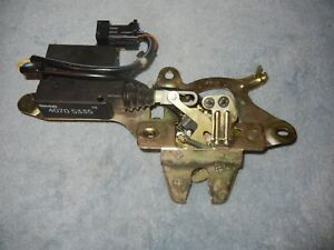SAAB 9000 Rear Hatch Latch And Actuator  # 40705335 4556916