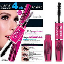 4D eyelash Lash Extension Eyelash Long Curling Black Thickness Mascara 3#