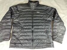 Patagonia Mens Goose Down Puffer Jacket Size L Large Black