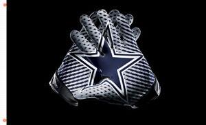 Dallas Cowboys Gloves Memorable flag 90x150cm 3x5ft best team banner