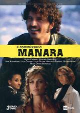 Il Commissario Manara - SerieTv - Stagione 1 - Cofanetto 3 Dvd - Nuovo Sigillato