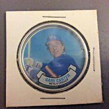 1987 Topps Metal Coin #28 Gary Carter New York Mets Baseball Card