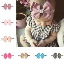 Cute Baby Girls Toddler Newborns Big Headband Headwear Hair Bow Accessories Pip