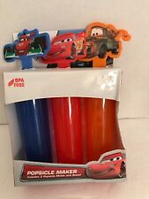New Disney Pixar Cars Popsicle Maker Mold and Stand - NIB