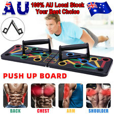 New listing 14 in1 Muscle Training Push Up Board Fitness Exercise Rack Grip Bar Stand Handle