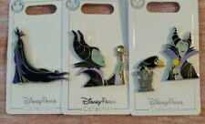 Disney Parks Maleficent 4 Pin Set Sleeping Beauty