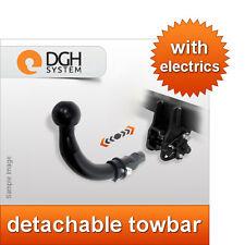 Detachable towbar Peugeot 307 SW estate estate 02/05 +13-pin electric kit