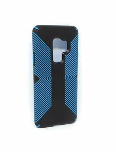 Speck Presidio Grip Case for Samsung Galaxy S9+ (Plus) - (Black / Blue)
