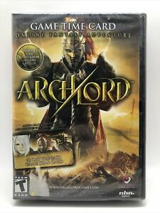 ARCHLORD PC DVD-ROM Software Online Fantasy Adventure Game-Complete