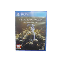 MIDDLE-EARTH SHADOW OF WAR PS4 2017 Chinese English Pre-Owned