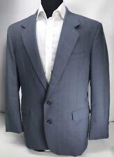 H Freeman Two Button Sport Coat Blue-Gray Jacket - USA- 40 R