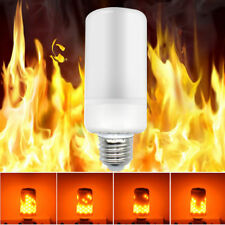 E27 LED Flicker Flamme Lampe Brennende Glühlampe Feuer Effekt Dekorativ Bulbs 7W