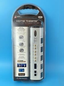 NEW Power Sentry Home Theater Computer Media Center Surge Protector 104168 NIP