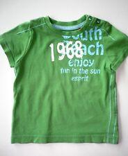 Kurzarm Shirt von Esprit in Gr.68 grün mit Motiv