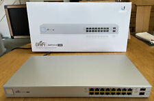 Ubiquiti UniFi US-16-150W 16-Port Managed PoE+ Gigabit Switch with SFP - 150W