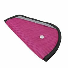 Comfortable Seat Belt Adjuster Car Child Safety Cover Harness MAROON Tri-Pad