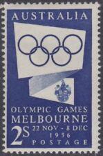 Australia,1954+1955; Olympic Games Publicity; 2v - 2/- blue & 2/- green MUH/MNH