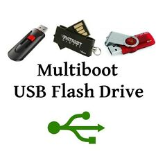 8GB USB Multiboot Flash Drive, Hiren's Boot CD, Backtrack, Safe Surfing, more!