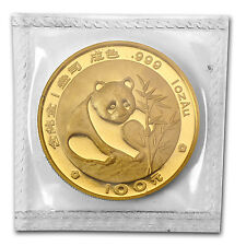 1988 1 oz Gold Chinese Panda Coin - Sealed in Plastic