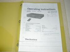 Technics SL-PS700 CD Bedienungsanleitung