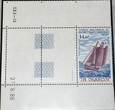 Taaf FSAT 1987 Maury Air 97 228 c96 BR voilier voile ships navires MNH
