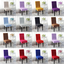 13Colors Stretch Super Fit Dining Chair Cover Seat Slipcover Protector Removable